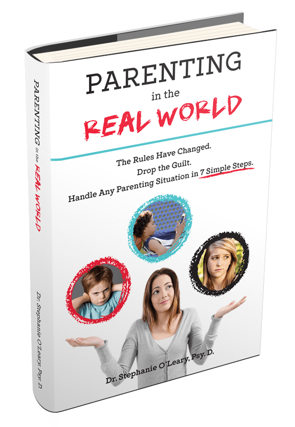 Simple Book Cover Reviews : Parenting in the real world by dr stephanie o leary