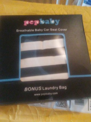 pepbaby breathable car seat cover review of a gender neutral car seat cover. Black Bedroom Furniture Sets. Home Design Ideas