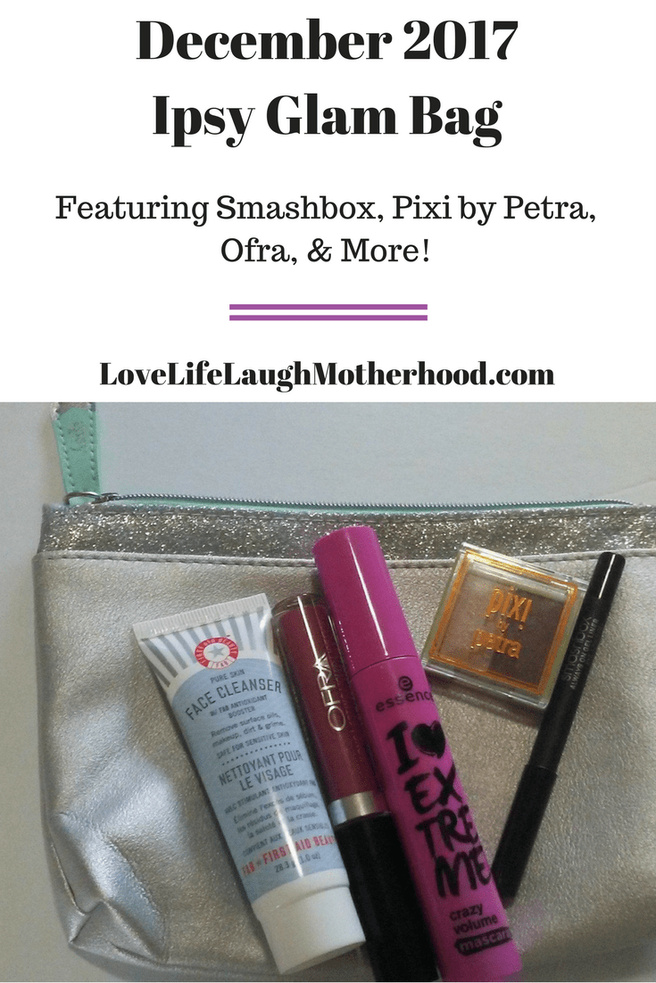 Ipsy Glam Bag Review for December 2017 Featuring Smashbox!