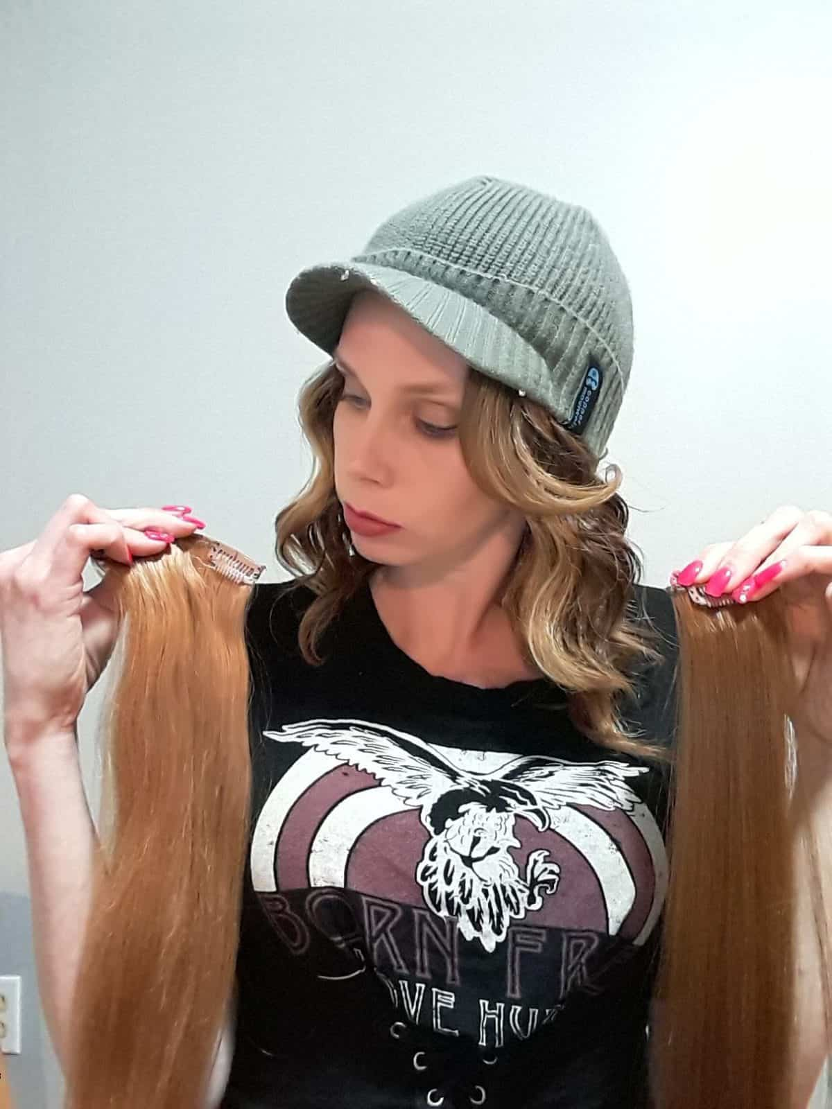 Canadahair Review Synthetic Vs Human Hair Extensions