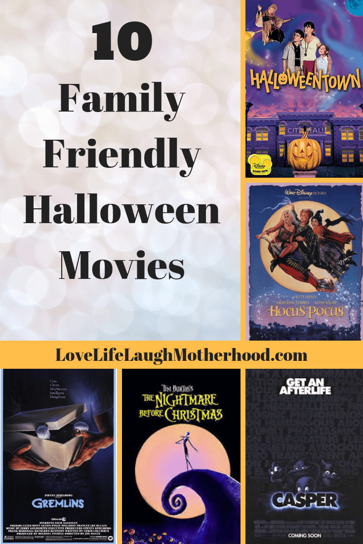 10 of the best family friendly halloween movies